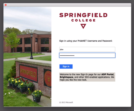 Home | TechHelp | Springfield College